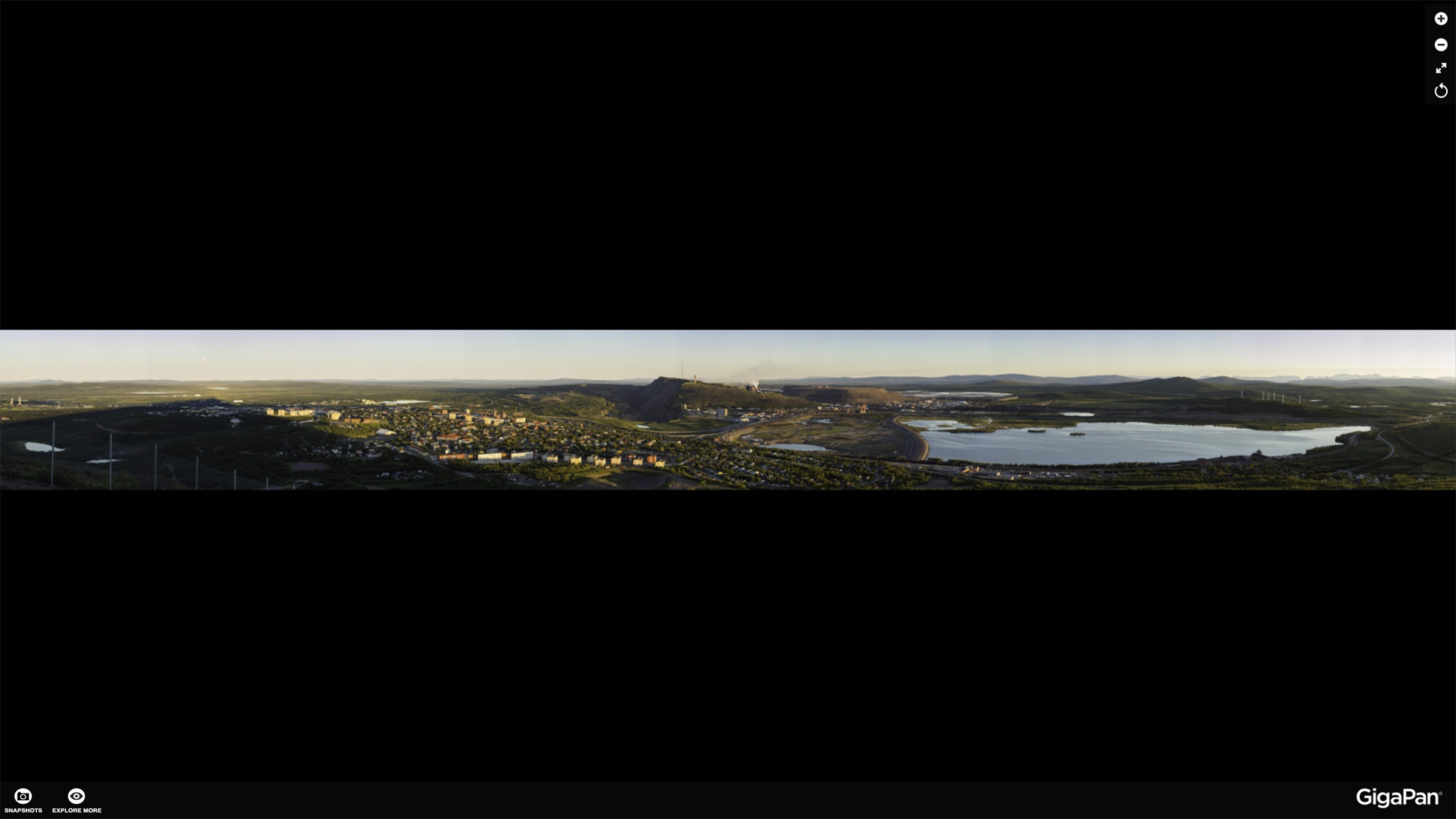 Panorama Kiruna