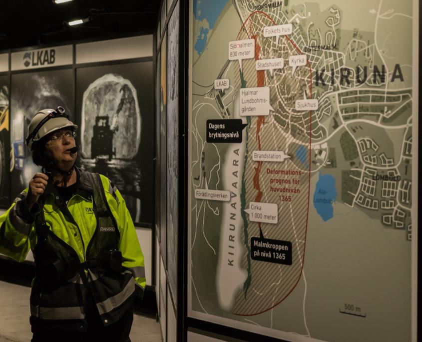 Flytting av Kiruna