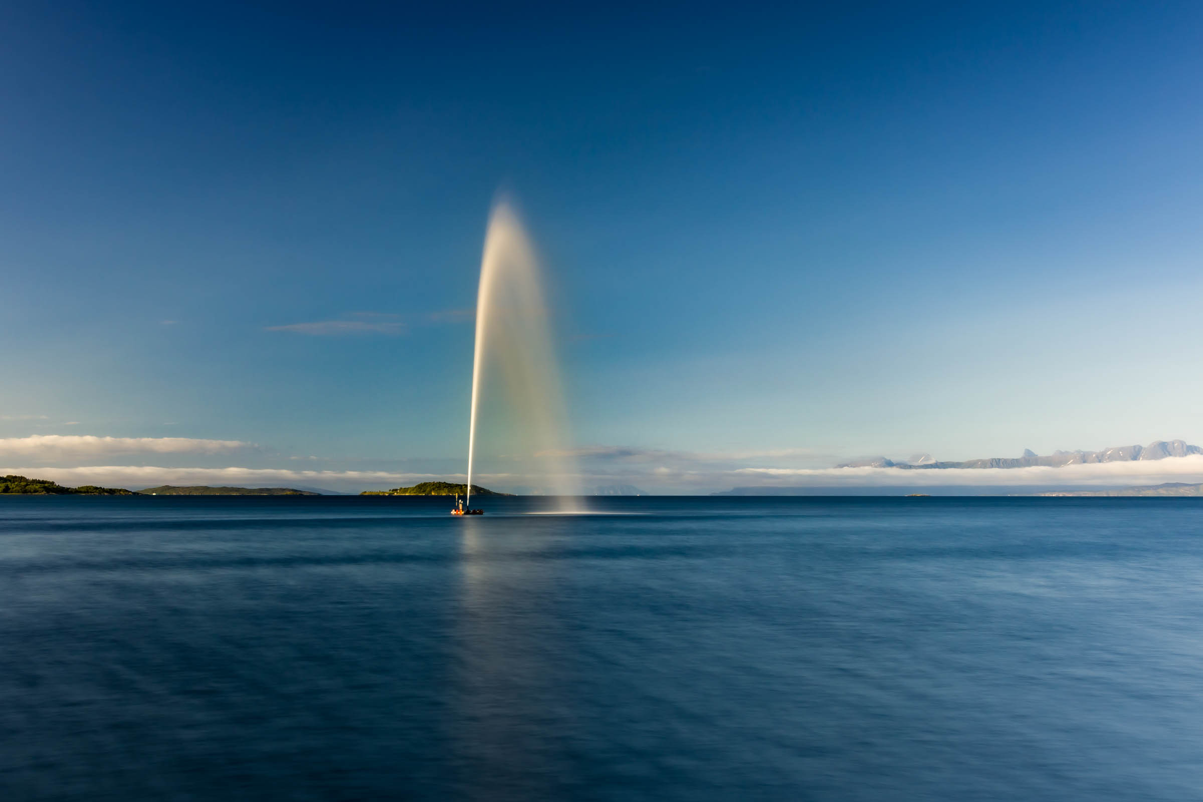 Long exposure - Selsbanes seil - Copyright © Trygve Selmer