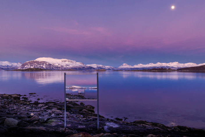 Long exposure - The Frame - Copyright Trygve Selmer