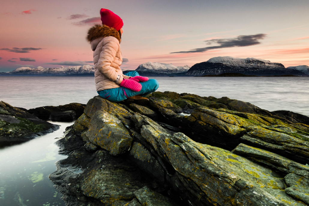 Long exposure - The last Sunset - Copyright Trygve Selmer